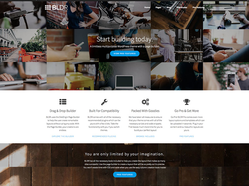 BLDR-Wordpress-Theme-Free